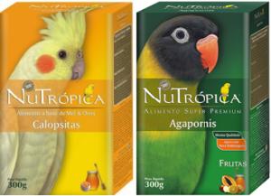 Nutropica_Agapornis_Calopsita